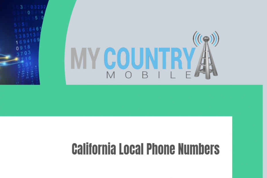 California Local Phone Numbers - My Country Mobile